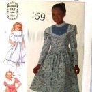 Simplicity  7401 Guinne Sax sewing pattern dress girls sz 12 uncut