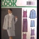 Simplicity New Look 6213 Sz 10-22 top, jacket, skirt & pants sewing pattern