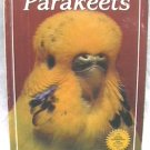 Parakeets Book by Feyerbend full color photos on bird care '84