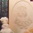 Candlewick embroidery doll and picture pattern leaflet