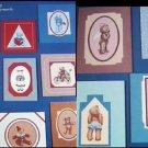 Cross stitch pattern booklet Bear Crossing by Alma Lynne