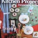 Leisure Arts cross stitch pattern leaflet 49 Quick Kitchen Projects