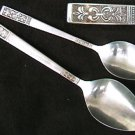 Customcraft CUS3 stainless flatware spoons
