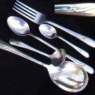 IS Meadow Flower silverplate 1940 5 pcs International Silver Plate