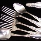 Rogers Arbutus silverplate IS 1908 5 pcs Rogers & Sons AA silver plate