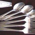 Cavalier silverplate CVR1 3 spoons 3 forks