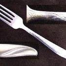 Utica stainless flatware UT128 dinner fork Utica Cut Co. stainless steel USA
