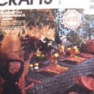 McCall 4278 sewing pattern tablecloths, placemats napkins apron chair covers and more uncut