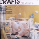 McCall's 2907 craft sewing pattern baby quilt bumper pads and more uncut