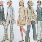 Butterick 5354 retro vintage sewing pattern 1970s coordintates size 16 uncut