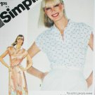 Simplicity 9917 pullover dress or top size 10 uncut sewing pattern
