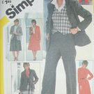 Simplicity 5240 misses go anywhere sewing pattern sz 14 uncut skirt jacket +