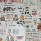 Cross stitch pattern leaflet Country Caboodle mini designs Leisure Arts 371