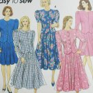 Simplicity 8168 sewing pattern womans 2 piece dress sz 18