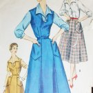 Simplicity 1284 vintage sewing pattern c 1950s jumper blouse sz 14 1/2 B 33