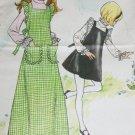 Butterick 6933 sewing pattern girl size 10 jumper & blouse