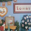 HeartStrings cross stitch pattern booklet Sugar Plums & Santa Claus