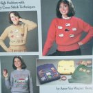 Sweater Book for Cross Stitch patterns sheep alphabet easy motifs 375Leisure Arts