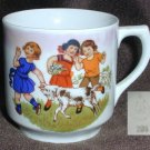 PK Unity Germany china cup scene children and goat