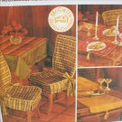 McCall 8944 sewing pattern home decor accessories uncut mantle cover placemats