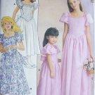Buttterick 4672 sewing pattern girl's dress flower girl gown sz 12