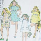 McCall 3486 girls dress sewing pattern 1973 size 7 uncut