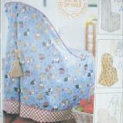McCall 8036 chair slip cover sewing pattern 7 variations