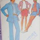 McCall 3581 vintage 1973 sewing pattern man's jacket pants shorts swim trunk sz 38 W32