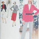 Simplicity 9064 vintage 1979 sewing pattern pants jacket skirt sz14