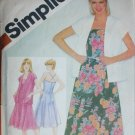 Simplicity 9949 sewing pattern 1981 sundress and jacket sz 12