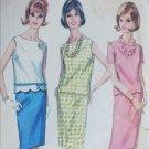Simplicity 5956 vintage 1965 sewing pattern two piece dress sz 16 B36