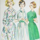 Butterick 2626 vintage sewing pattern dress circa 1950s early 60s size 14 B34