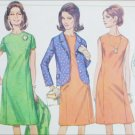 Simplicity 6871 sewing pattern 1966 issue size 14 dress and jacket