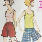McCall 7346 vintage 1964 sewing pattern misses culottes size 18 B38 UNCUT