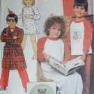 McCall 8822 sewing pattern child robe PJ nightshirt size 6