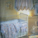 McCall 8373 sewing pattern nursery bumper pads comforter caddy UNCUT for baby