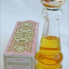 Avon Patchwork demi cologne bottle in box perfume