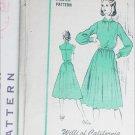 Vintage designer sewing pattern Willi of California dress circa 1960s UNCUT size 16 B38
