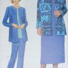 Butterick 5241 sewing pattern misses jacket top skirt pants sizes 18 20 22 UNCUT