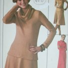 Simplicity 7750 sewing pattern misses pullover dress knit top only sz 12-14 UNCUT