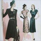Butterick B5281 retro 1946 vintage dress pattern sizes 6 to 12 UNCUT