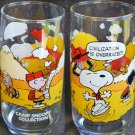McDonalds Camp Snoopy collectible glass Civilization is Overrated
