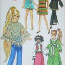 Simplicity 9138 sewing pattern for 15 1/2 inch doll wardrobe