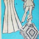 Vintage 1972 sewing pattern dress The Workbasket 9209 size 16 1/2 B 39 UNCUT