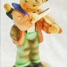 Napco Fiddler Hummel like figurine SH1A 5 1/2 inches boy with violin