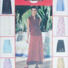 McCall 2192 sewing pattern misses wrap skirts size 12 14 16 UNCUT
