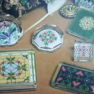 Cross stitch booklet Plain Fancy Paperweights 19 pattern designs