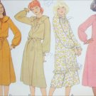 McCall 6187 sewing pattern pullover dress or tunic size 10 B 32 1/2 UNCUT