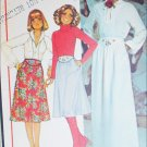 McCall 5867 sewing pattern misses blouse skirt size 10 B 32 1/2 UNCUT