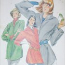 Butterick 6157 sewing pattern loose fitting misses top size small 8 to 10 UNCUT